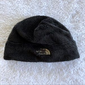 The North Face Girl's Black Fuzzy Hat